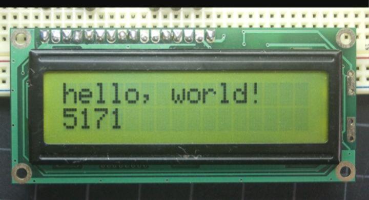 LCD Display Arduino1602 5V