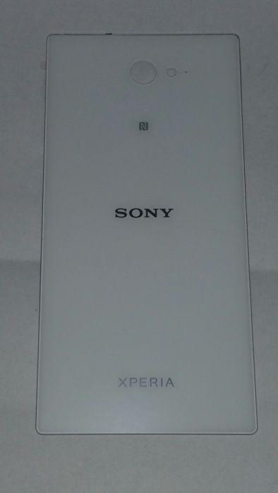 Capac baterie original si nou Sony Xperia M2 alb