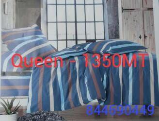 Jogo de lençóis e fronhas - Queen