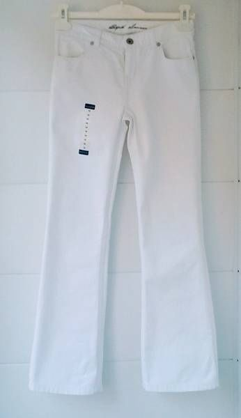 Джинсы Polo Ralph Lauren (made in Columbia) для девочки, новые, белые