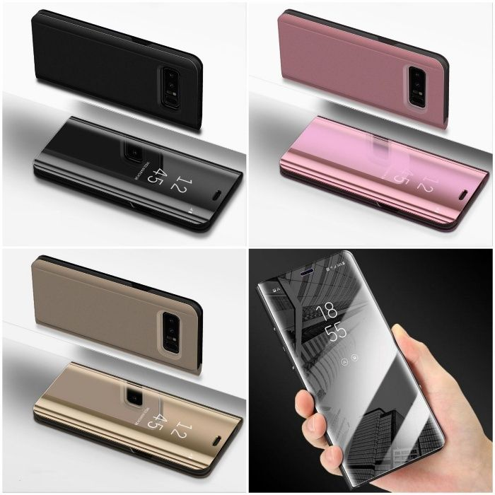 Husa Smart Clear View Samung S8 s8 Plus S7 Edge,S6,S7,S6 Edge Note 8