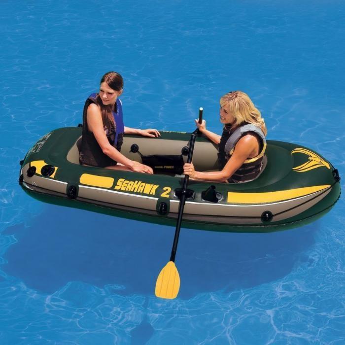 двухместная надувная лодка Inrex