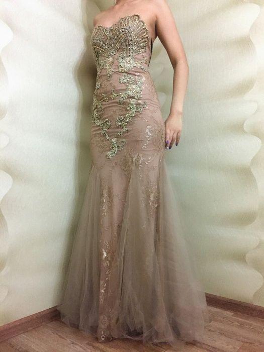 Новое красивое вечернее платье - 40000 тг.!