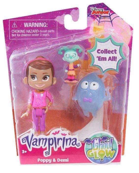 Set figurine Poppy si Demi Vampirina varsta 3-7 ani Multicolor vp78065