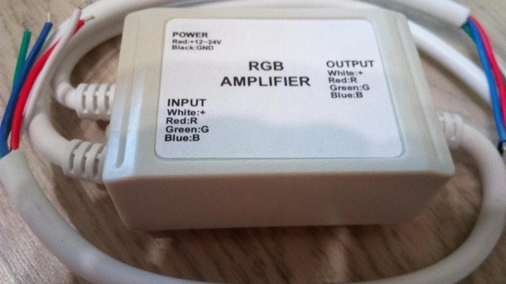Усилитель сигнала для RGB светодиодной ленты