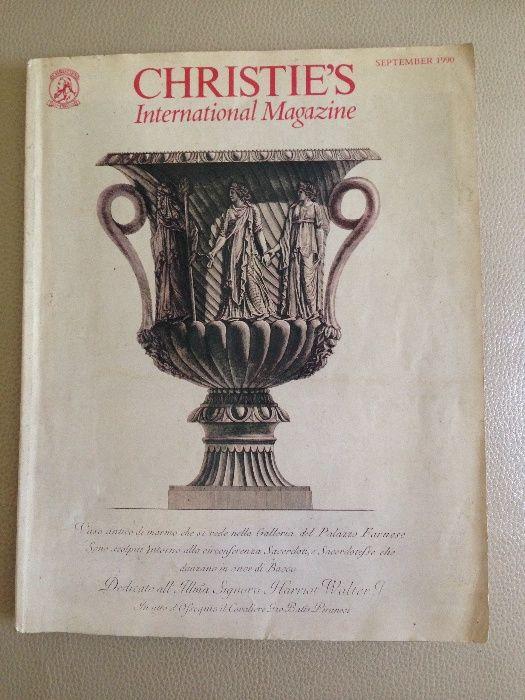 Catalog Licitatie Christies, International Magazine 1990
