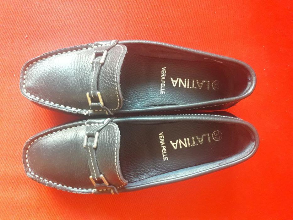 Vand pantofi piele interior+exterior noi marimea 37