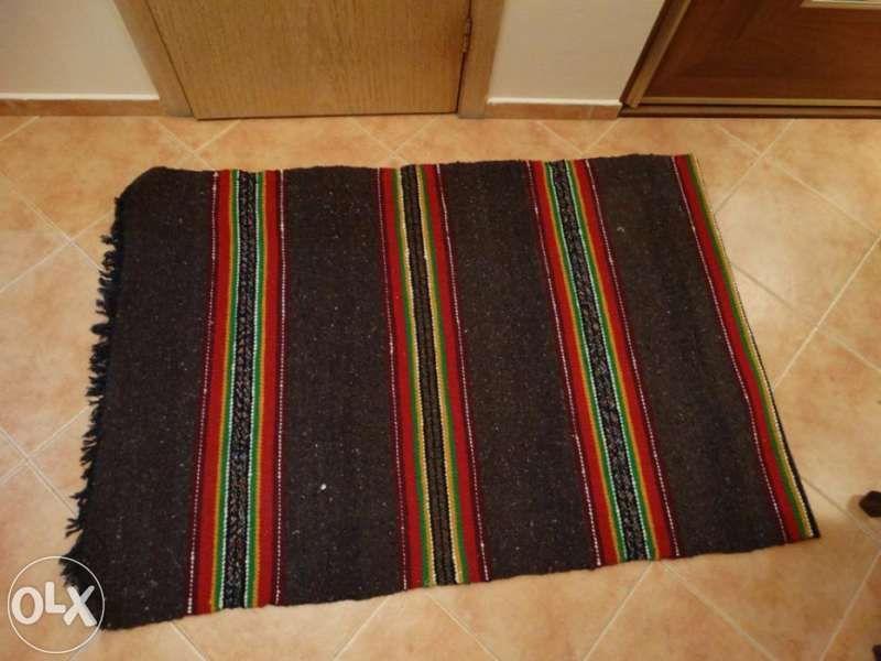 Домашно тъкани черги комплект - нови