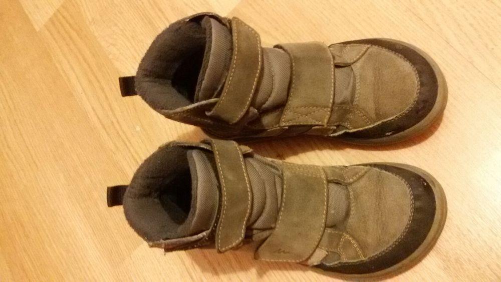 Ghete cizme iarna zapada piele Quechua 32