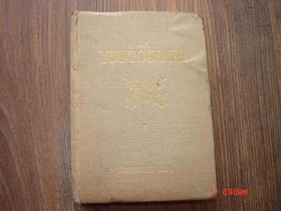 """Carte ,,Iugoslavia"""" -1955"""