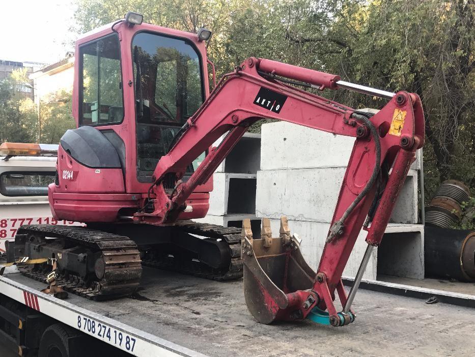 Услуги мини экскаватора трактор KUBOTA U 25