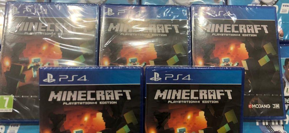 MINECFRAFT jogo para PS4 selados