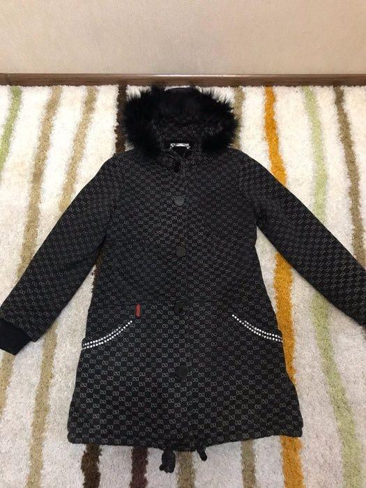 Роскошное детское пальто на 7 - 9 лет, Chanel