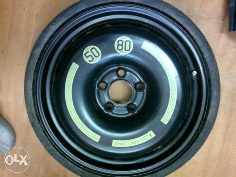 Сгъваема резервна гума патерица15, 16, 17цола 5x112 за мерцедес и ауди