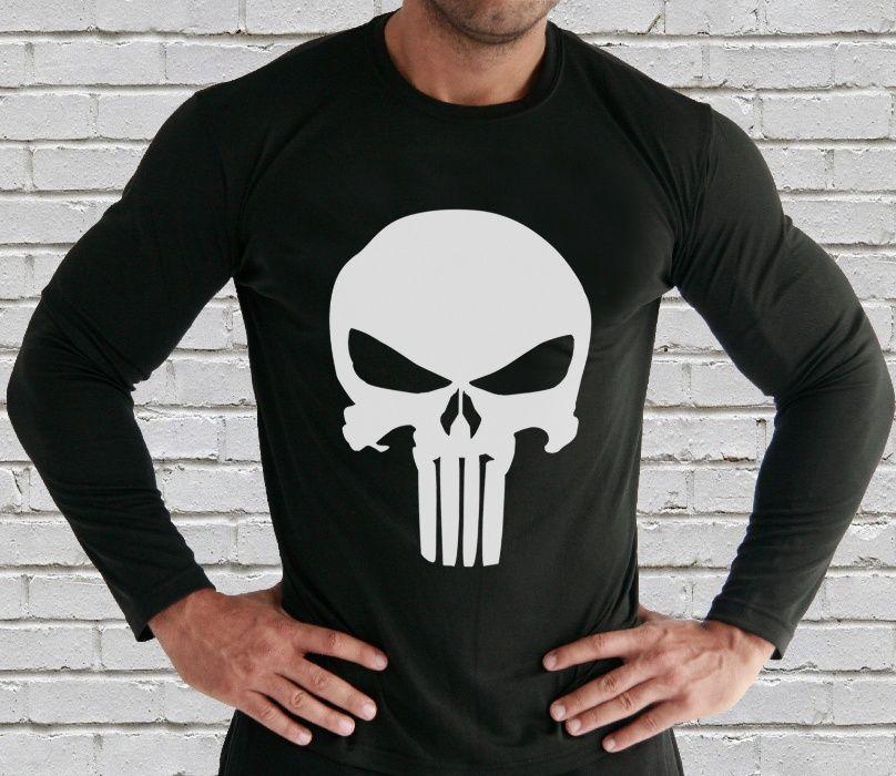 Мъжки блузи и тениски THE PUNISHER SKULL PLEIN TIGER Или с ТВОЯ идея!