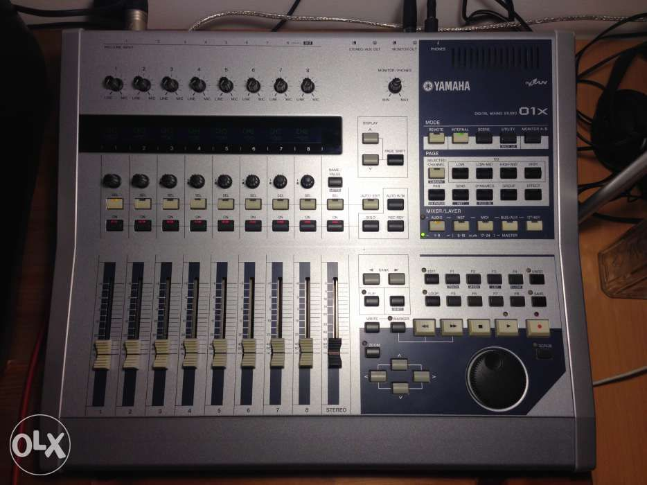SUPER OCAZIE mixer digital YAMAHA 01x mLAN studio live made in Japan