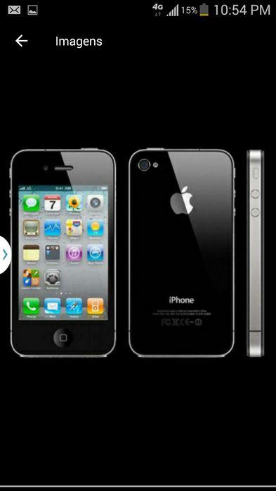 IPhone 4s novo fora da caixa 16 gb.