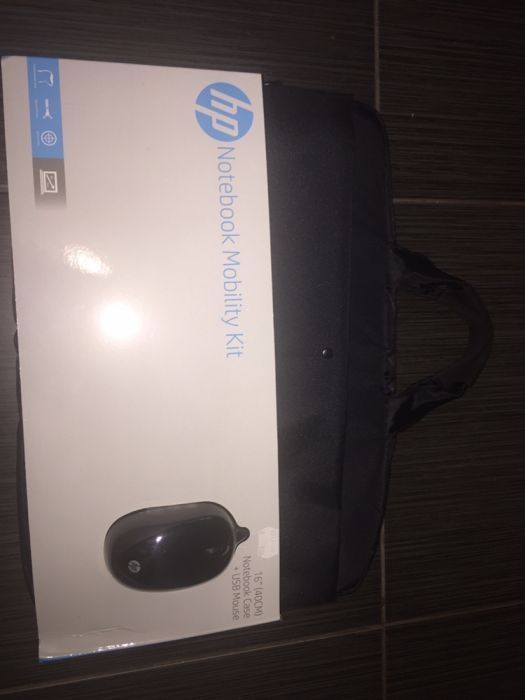 Чанта за лаптоп hp + подарък мишка