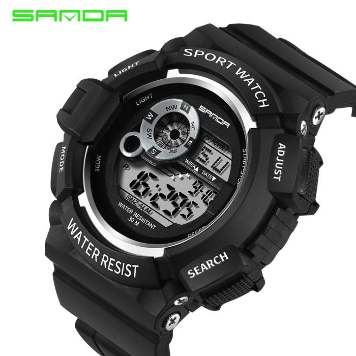 Спортивные водонепроницаемые часы от SANDA. 326.m S.319m. S.302m