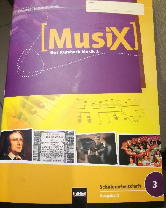 на 1/2 цена-Учебник по музика на немски език/MUSIX - Das Kursbuch Musi