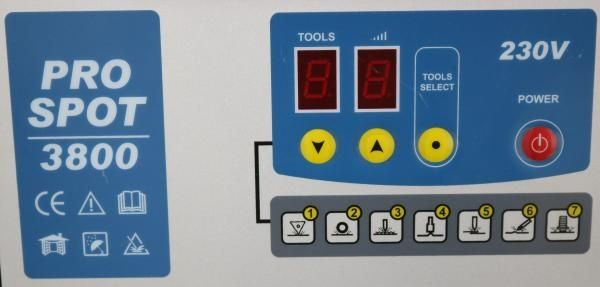 PRO SPOT 3800 , 230V - Aparat tras tabla tinichigerie auto INTENSIV Bucuresti - imagine 6