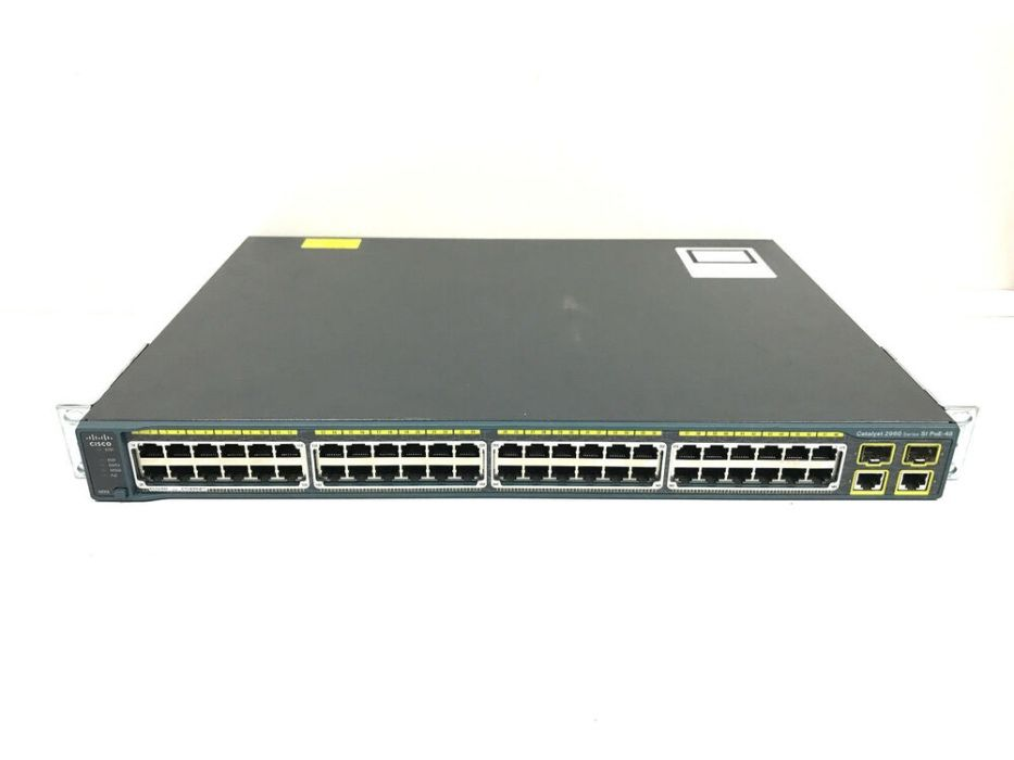 Cisco Switch WS-C2960+48PST-S (Novo Na Caixa)