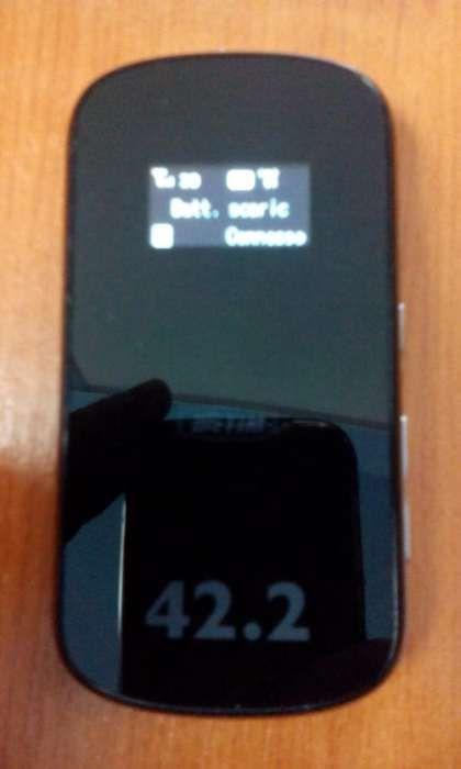 Mobile Wi-Fi Modem Router Portabil 3G 3G+ 4G ZTE MF80 Decodat 43,2 MBs