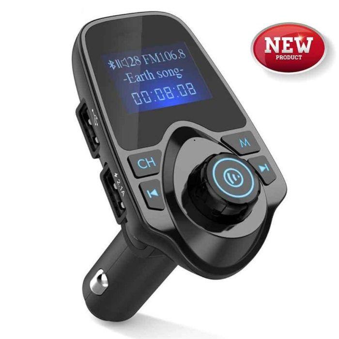 Modulator FM Auto Hands Free T11 cu Bluetooth, Citire USB si MicroSD