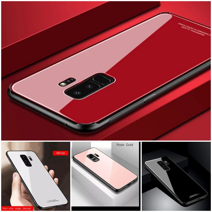 Husa Tempered Glass Samsung S9 / S9 Plus / S8 / S8 Plus / A8 / A8 Plus