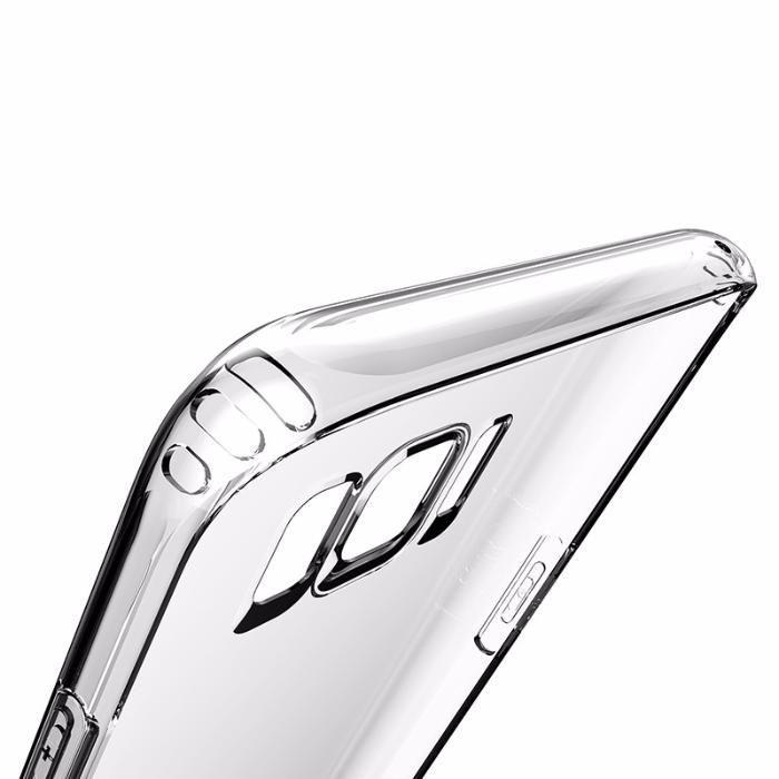 BASEUS силиконов прозрачен кейс Samsung Galaxy S8, S8 Plus, Note 8, S9
