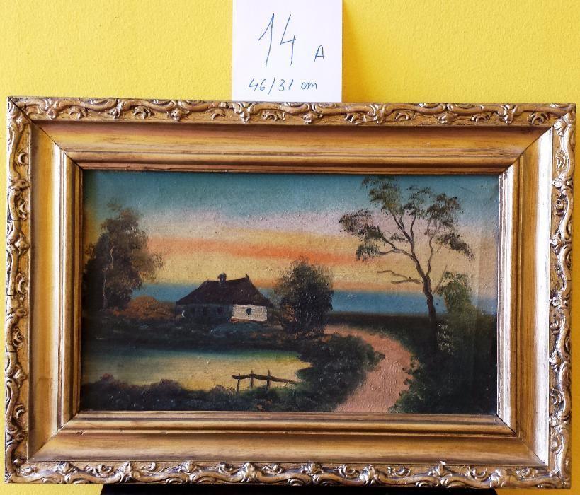 Tablou pictura - Peisaj - set trei tablouri