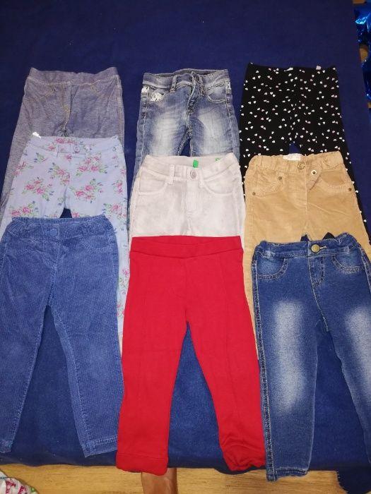 Есенни клончета, дънки и джинси
