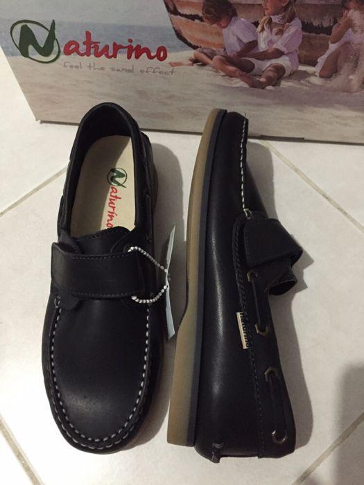 Продам темно-синие туфли для школы на мальчика р. 36-40, Италия