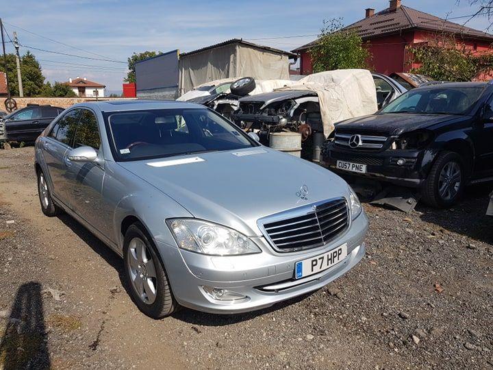 Mercedes S 500 Мерцедес W221 Мерцедес s class еС класа на части