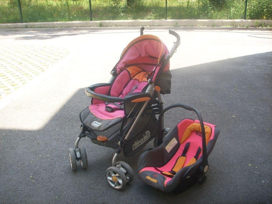 Бебешка количка с кошче за пренасяне на бебе