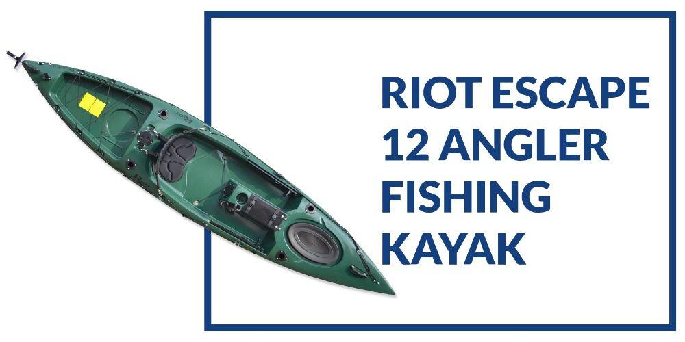 Каяк -риболов Riot Escape 12 Angler (нов в гаранция)