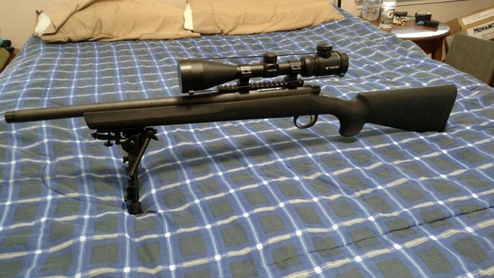 Pusca AIRSOFT METAL sniper ~4.2 JOULI~ cu aer comprimat AWP 6mm ARC