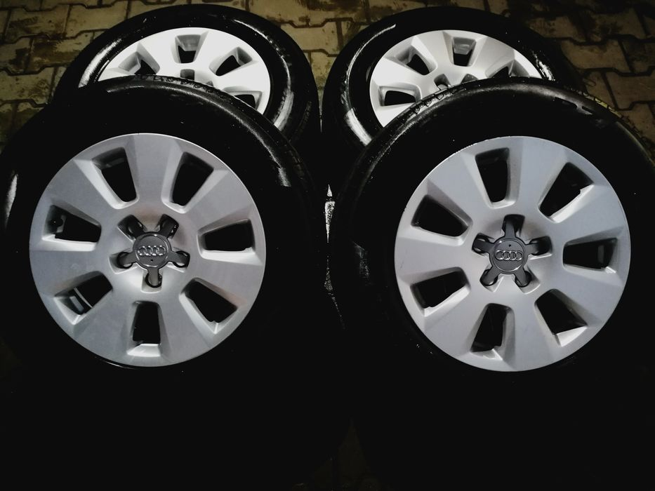 Roti/Jante 16'Originale Audi A6 4G(2012+)/A3/A4 5x112 Pireli225/60/16