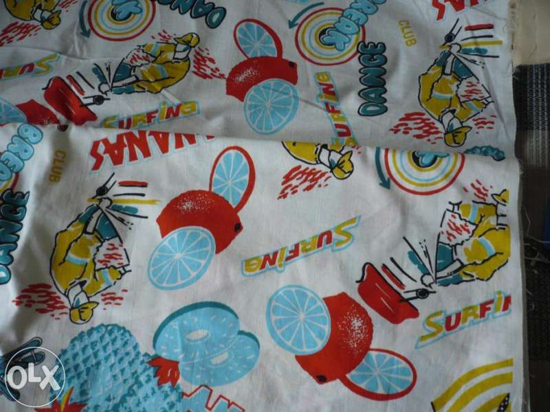 Антиалергичен полар, памучни платове със свежи десени