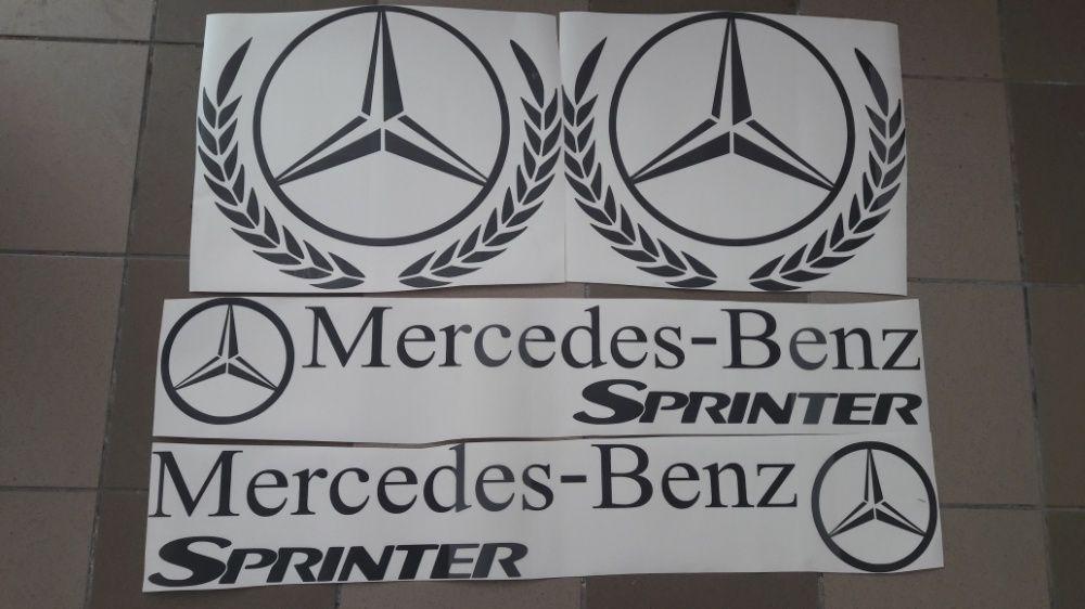 Set stickere autocolante Mercedes Sprinter