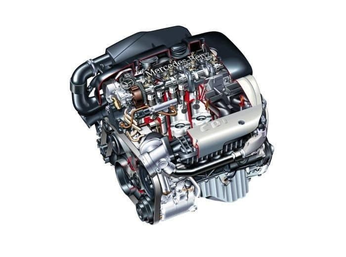 Motor Mercedes Sprinter 311,313,315,316,51/motor vito/motor e class