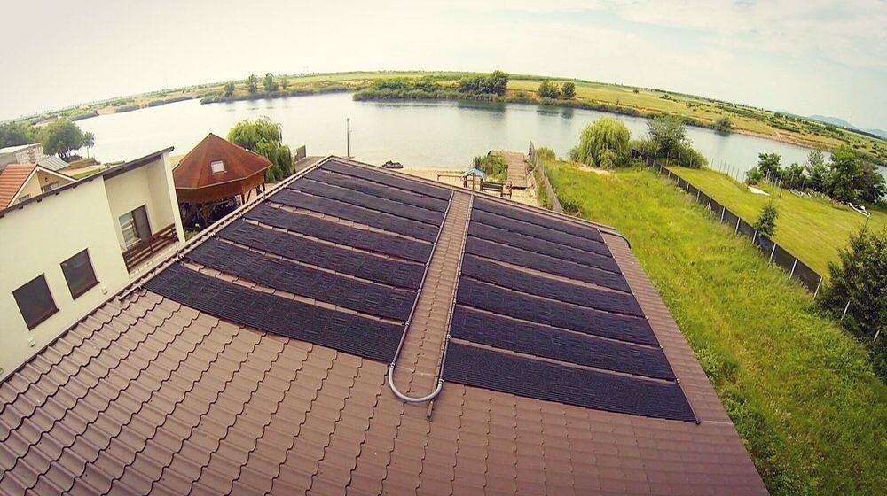 panou solar incalzire piscina