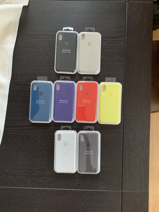 Huse Apple Silicone Case iPhone 6 6s 7 8 + Plus X Xs Max / Sigilate /