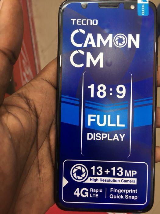 Tecno Camon CM : novo lançamento