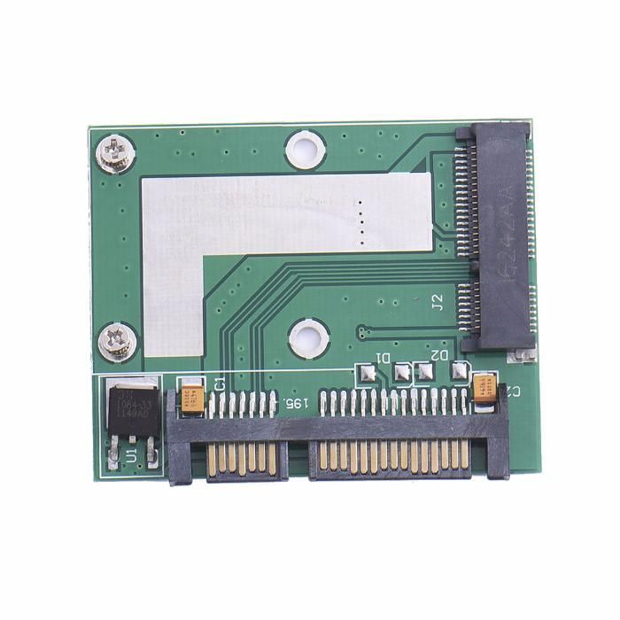 Adaptor convertor SSD mSATA la SATA HALF SIZE pt laptop