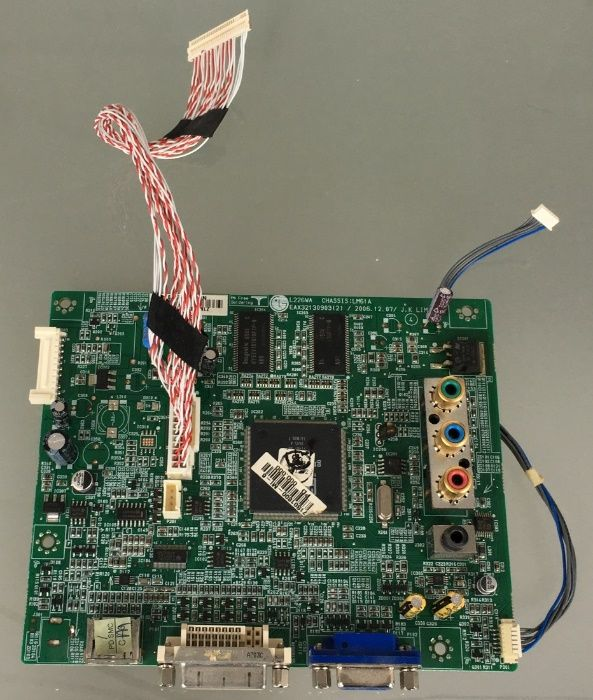Placă procesare video monitor LG 226WA