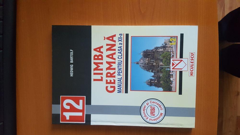 Vand manual de limba germana pentru clasa a XII-a