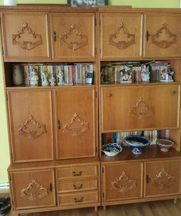 Mobila living/sufragerie lemn