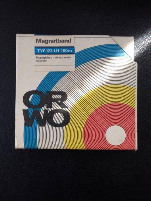 Колекционерски Магнетофонни ленти ORWO нови