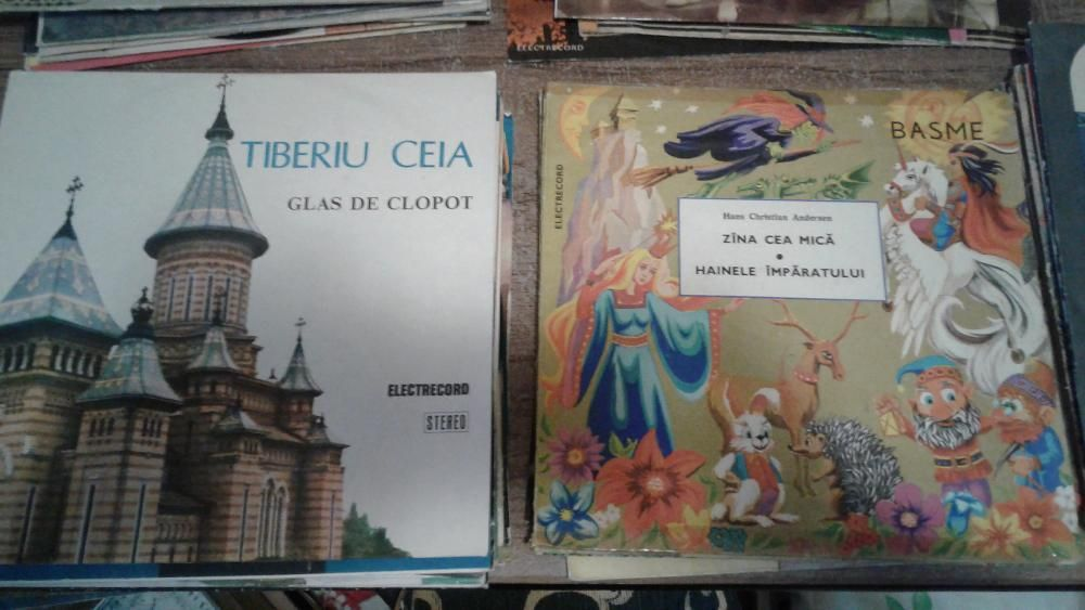 Colectie Discuri Pick-up